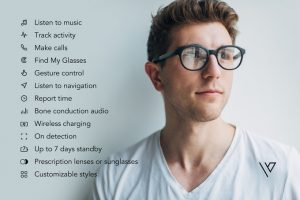 glasses which take care of all the tech needs and keeps you fashionable