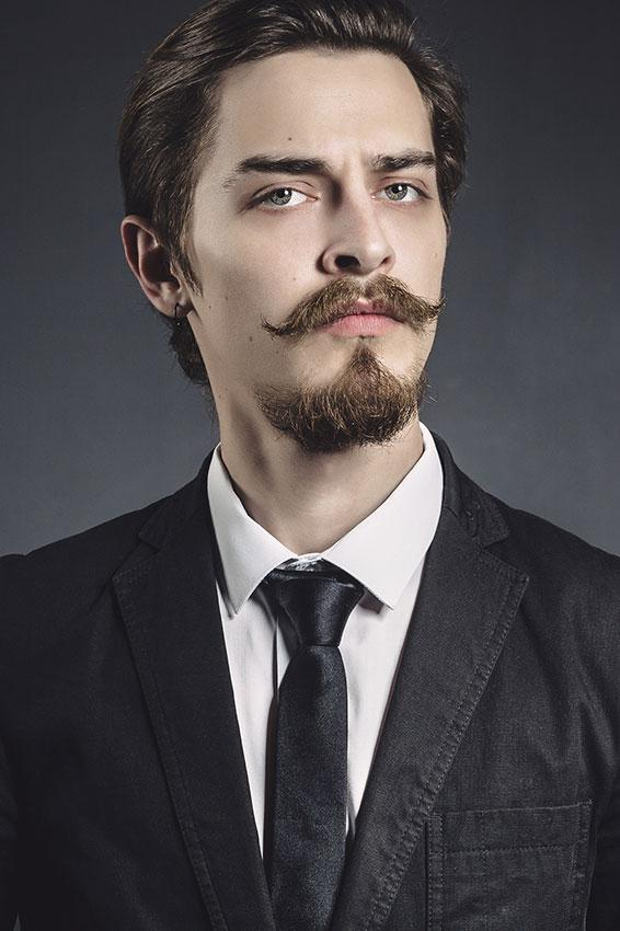 Image result for the goatee and handlebar moustache