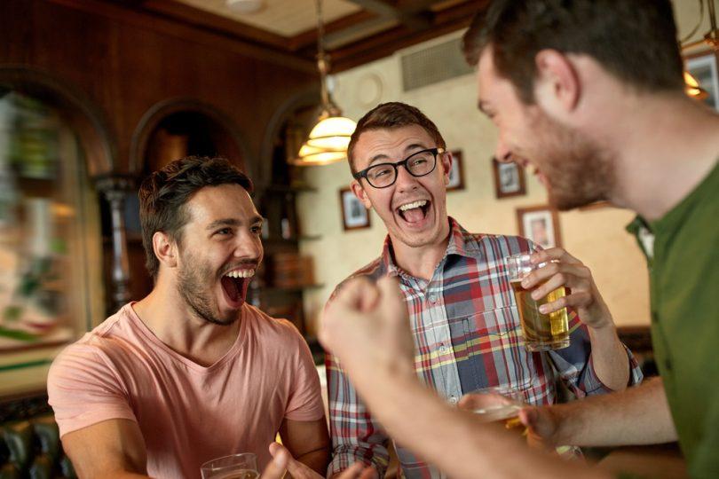 laughing men