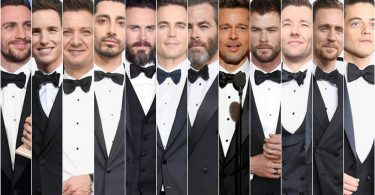 Trendy Tuxes and The Beard Accessory --Men's Fashion Take-Aways from the Golden Globes 2017